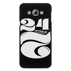 Always hustle design Samsung Galaxy E7  printed back cover