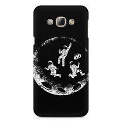 Enjoying space astraunauts design Samsung Galaxy E7  printed back cover