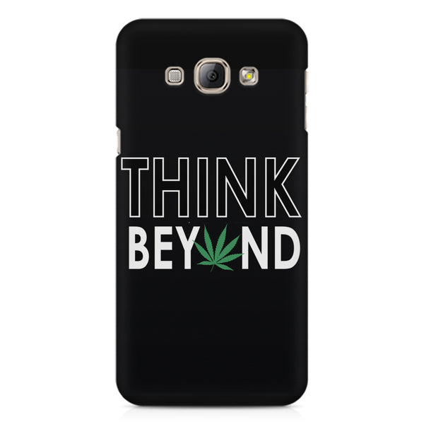 Think beyond weed design Samsung Galaxy E5  printed back cover
