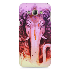 Lord Ganesha design Samsung Galaxy E5  printed back cover