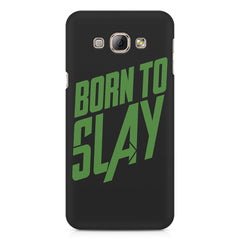 Born to Slay Design Samsung Galaxy A3 hard plastic printed back cover