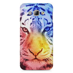 Colourful Tiger Design Samsung Galaxy A3 hard plastic printed back cover