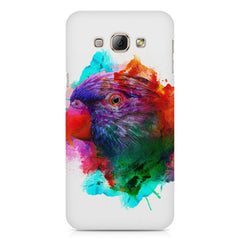 Colourful parrot design Samsung Galaxy A3 hard plastic printed back cover