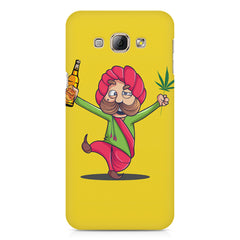 Sardar dancing with Beer and Marijuana  Samsung Galaxy A3 hard plastic printed back cover