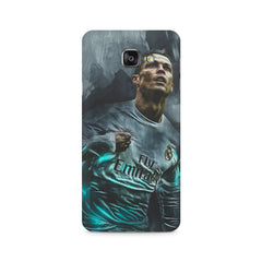 Oil painted ronaldo  design,  Samsung Galaxy A7 (2016)  printed back cover