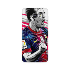 Messi illustration design,  Samsung Galaxy A7 (2016)  printed back cover