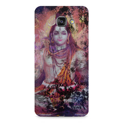 Shiva painted design Samsung Galaxy A7 (2016)  printed back cover