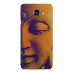 Peaceful Serene Lord Buddha Samsung Galaxy A7 (2016)  printed back cover