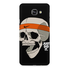Skull Funny Just Did It !  design,  Samsung Galaxy A7 (2016)  printed back cover