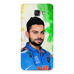 Virat Kohli Oil Painting India design,  Samsung Galaxy A7 (2016)  printed back cover