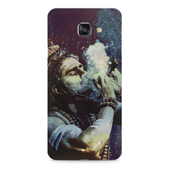 Smoking weed design Samsung Galaxy A7 (2016)  printed back cover