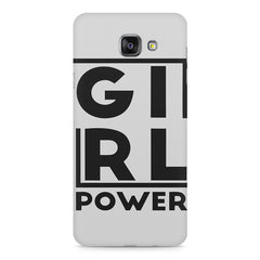 Girl power deisgn Samsung Galaxy A7 (2016)  printed back cover