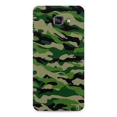 Military design design Samsung Galaxy A7 (2016)  printed back cover