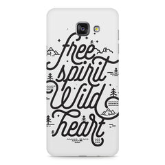 I am a free spirit design Samsung Galaxy A7 (2016)  printed back cover