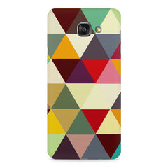 Colourful pattern design Samsung Galaxy A7 (2016)  printed back cover