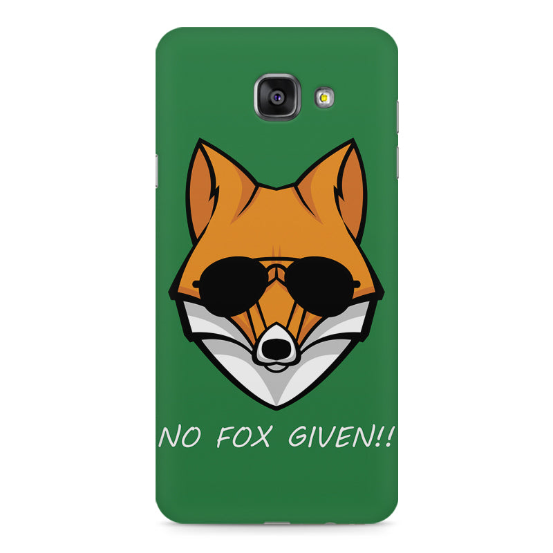 finest selection 5577b 64bb1 No fox given design Samsung Galaxy A7 (2016) printed back cover