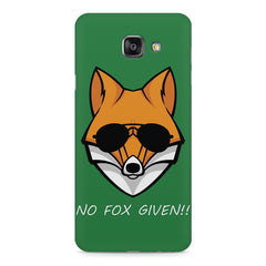 No fox given design Samsung Galaxy A7 (2016)  printed back cover