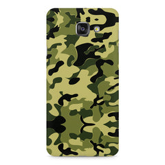 Camoflauge army color design Samsung Galaxy A7 (2016)  printed back cover