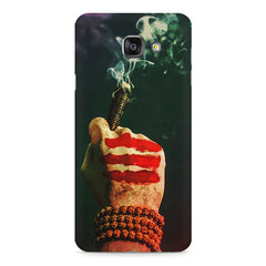 Smoke weed (chillam) design Samsung Galaxy A7 (2016)  printed back cover