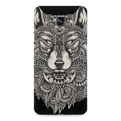 Fox illustration design Samsung Galaxy A7 (2016)  printed back cover