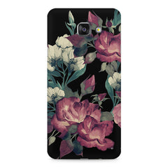 Abstract colorful flower design Samsung Galaxy A7 (2016)  printed back cover
