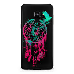 Good luck Pigeon sketch design all side printed hard back cover by Motivate box Samsung J6 Plus hard plastic all side printed back cover.