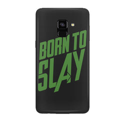 Born to Slay Design Samsung J6 Plus hard plastic all side printed back cover.