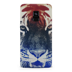 Pixel Tiger Design Samsung A6 plus hard plastic printed back cover.