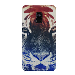 Pixel Tiger Design Samsung J6 Plus hard plastic all side printed back cover.