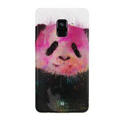 Polar Bear portrait design Samsung J6 Plus hard plastic all side printed back cover.