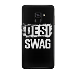 Desi Swag Samsung J6 Plus hard plastic all side printed back cover.