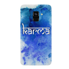 Karma Samsung J6 Plus hard plastic all side printed back cover.