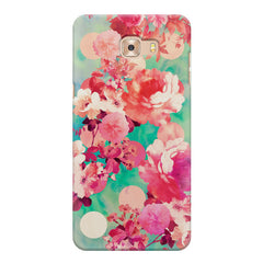 Floral  design,  Samsung Galaxy C7 Pro  printed back cover