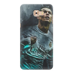 Oil painted ronaldo  design,  Samsung Galaxy C7 Pro  printed back cover