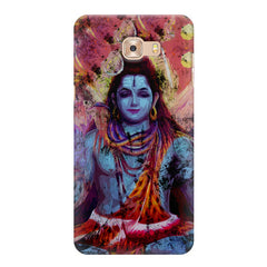 Shiva painted design Samsung Galaxy C7 Pro  printed back cover