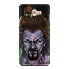 Shiva Anger  Samsung Galaxy C7 Pro  printed back cover