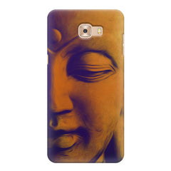 Peaceful Serene Lord Buddha Samsung Galaxy C7 Pro  printed back cover