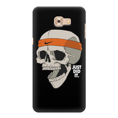 Skull Funny Just Did It !  design,  Samsung Galaxy C7 Pro  printed back cover