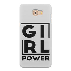 Girl power deisgn Samsung Galaxy C7 Pro  printed back cover