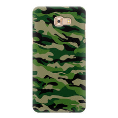 Military design design Samsung Galaxy C7 Pro  printed back cover