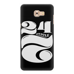 Always hustle design Samsung Galaxy C7 Pro  printed back cover