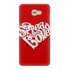 Spread some love design Samsung Galaxy C7 Pro  printed back cover