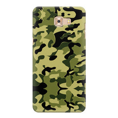 Camoflauge army color design Samsung Galaxy C7 Pro  printed back cover