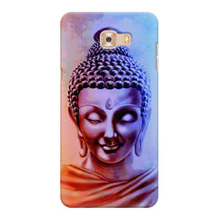 Lord Buddha design Samsung Galaxy C7 Pro  printed back cover