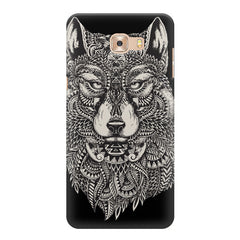 Fox illustration design Samsung Galaxy C7 Pro  printed back cover