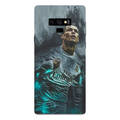 Oil painted ronaldo  design,  Samsung Galaxy Note 9 hard plastic printed back cover