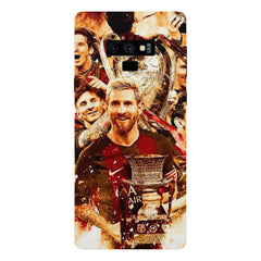 Messi  design,  Samsung Galaxy Note 9 hard plastic printed back cover