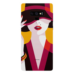 Classy girl  design,  Samsung Galaxy Note 9 hard plastic printed back cover