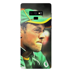 AB de Villiers South Africa  Samsung Galaxy Note 9 hard plastic printed back cover