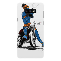 Puff pass  Samsung Galaxy Note 9 hard plastic printed back cover